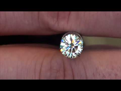 Viewing a 2ct I VS2 Platinum Round Diamond