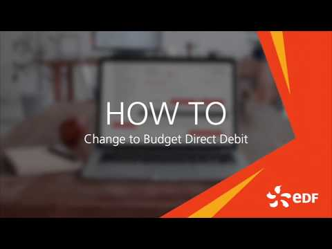 How Do I Set Up My Direct Debit Edf Energy