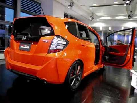 Honda modulo s2000 and orange honda fit concept cars for Orange honda fit