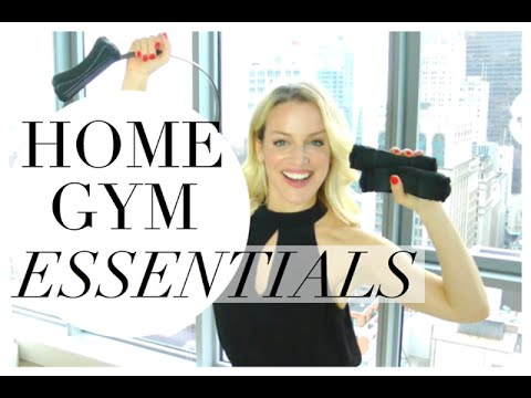 Home Gym Essentials   HOME GYM EQUIPMENT MUST HAVE'S