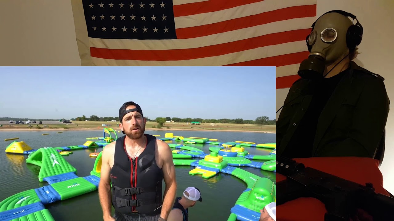 Image Result For Nerf Blasters Floating Island Battle Dude Perfect Youtube