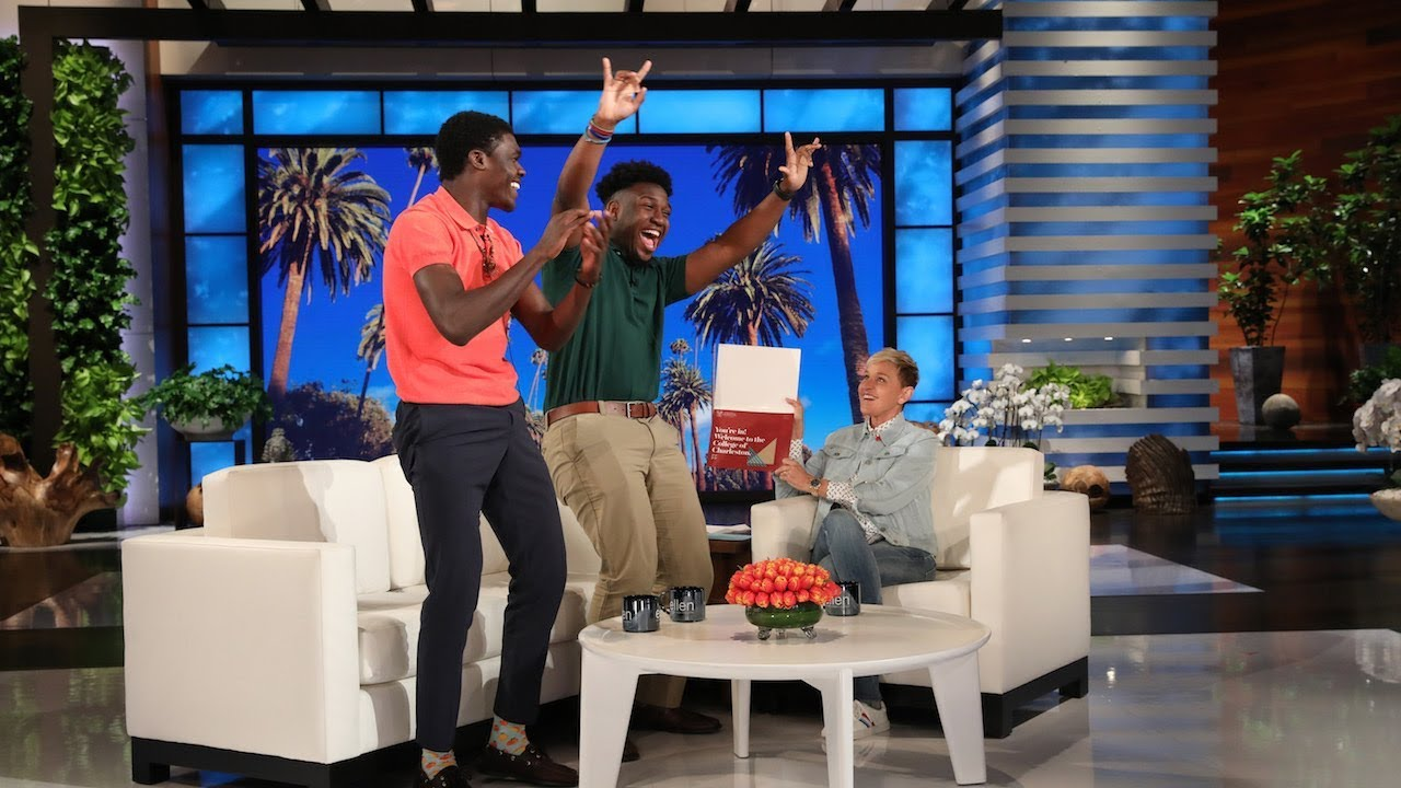 Ellen Gives High School Seniors an Unforgettable College Surprise