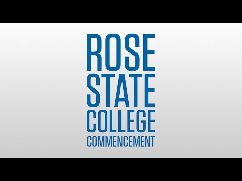 Rose State College Graduation - 11 A.M. Ceremony