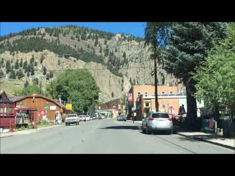 Driving through Creede,  Colorado in September 1961 and September 2016