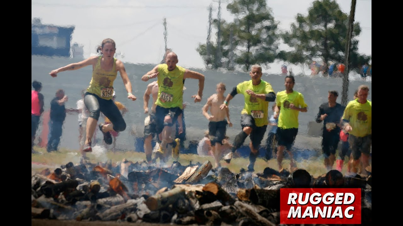 Rugged Maniac 5k Obstacle Race, May 16, 2015 , Part 2