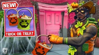 *FUNNY* TRICK OR TREAT Custom Gamemode in Fortnite Battle Royale! *SEASON 6*