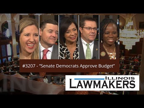 Illinois Lawmakers #3207 - Senate Democrats Approve Budget