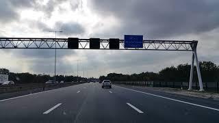 Dashcam Beelden Naarden » De Meern Via: A1, A27 en A12.