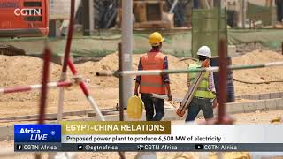 China, Egypt sign deal for Egypt's first clean-coal power plant