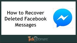 How to Find and Recover Deleted Facebook Messages