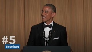 Obama's Top 5 from White House Correspondents' Dinner