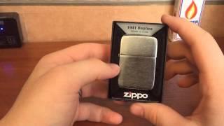 Обзор Zippo 1941 replica