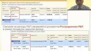 0122. 1С:ERP План счетов. Принципы формирования проводок