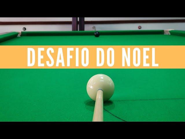 Partidas com taco de bar e trancada sem tabela + DESAFIO DO NOEL!!