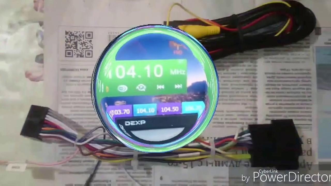 Как установить видеорегистратор для 2din магнитолы