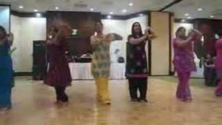 Indian Wedding Reception Dance Routine
