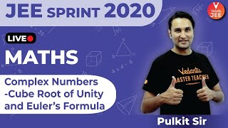 Complex Numbers - Cube Root of Unity and Euler's Formula   JEE Sprint 2020   JEE Main 2020   Vedantu