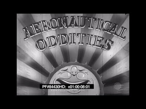 HILARIOUS EARLY EXPERIMENTAL AIRCRAFT  U.S. ARMY AIR CORPS 84430 HD