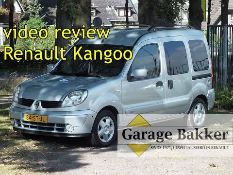 Video review Renault Kangoo 1.6 16v Automaat Privilège, 2006