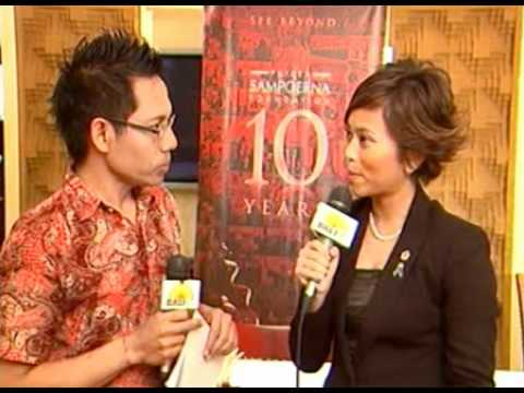 Putera Sampoerna Received Peace Through Commerce Medal Award report by BALI TV
