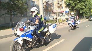 В Пензе два мотоцикла повлияли на статистику нарушений ПДД