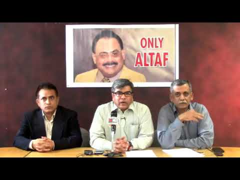 LIVE: Video Briefing of Co-ordination Committee of MQM from London10 October, 2017(Recorded)