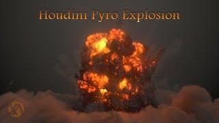 Houdini Pyro Explosion