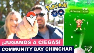 JUEGO TODO EL COMMUNITY DAY DE CHIMCHAR SOLO USANDO LA GO PLUS - Pokémon Go [Neludia]