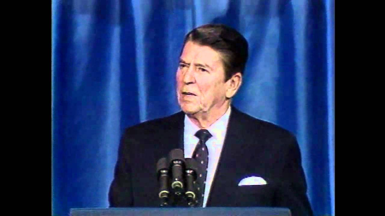 analysis of reagans national association of evangelicals speech politics essay This essay began as a term paper in karlyn kohrs campbell's graduate seminar   through this analysis, i argue that reagan's speech at pointe du hoc is  exemplary  republican national convention, and this trip served a political  purpose in deaver's  of the national association of evangelicals in orlando,  florida.