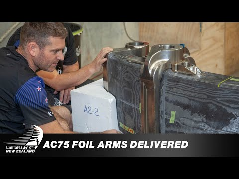AC75 Foil Arms Delivery