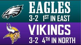 2019 WEEK 6 NFL GAME PICKS