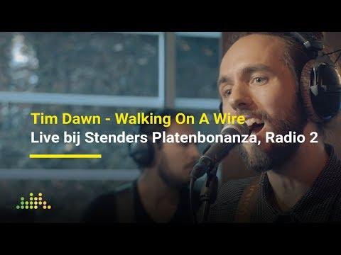 Tim Dawn - Walking On A Wire   Live bij Stenders Platenbonanza, Radio 2