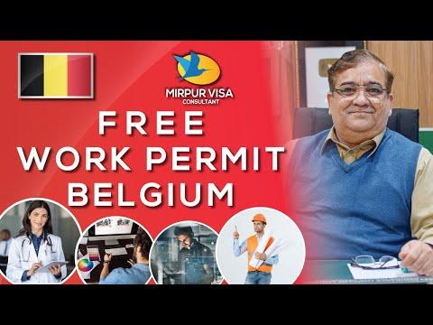 Belgium free work permit || Easy work permit || work visa requirements || Major kamran ||