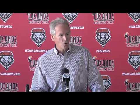 2012 Lobo Football   Tueday Media Luncheon Press Conference: Coach Bob Davie