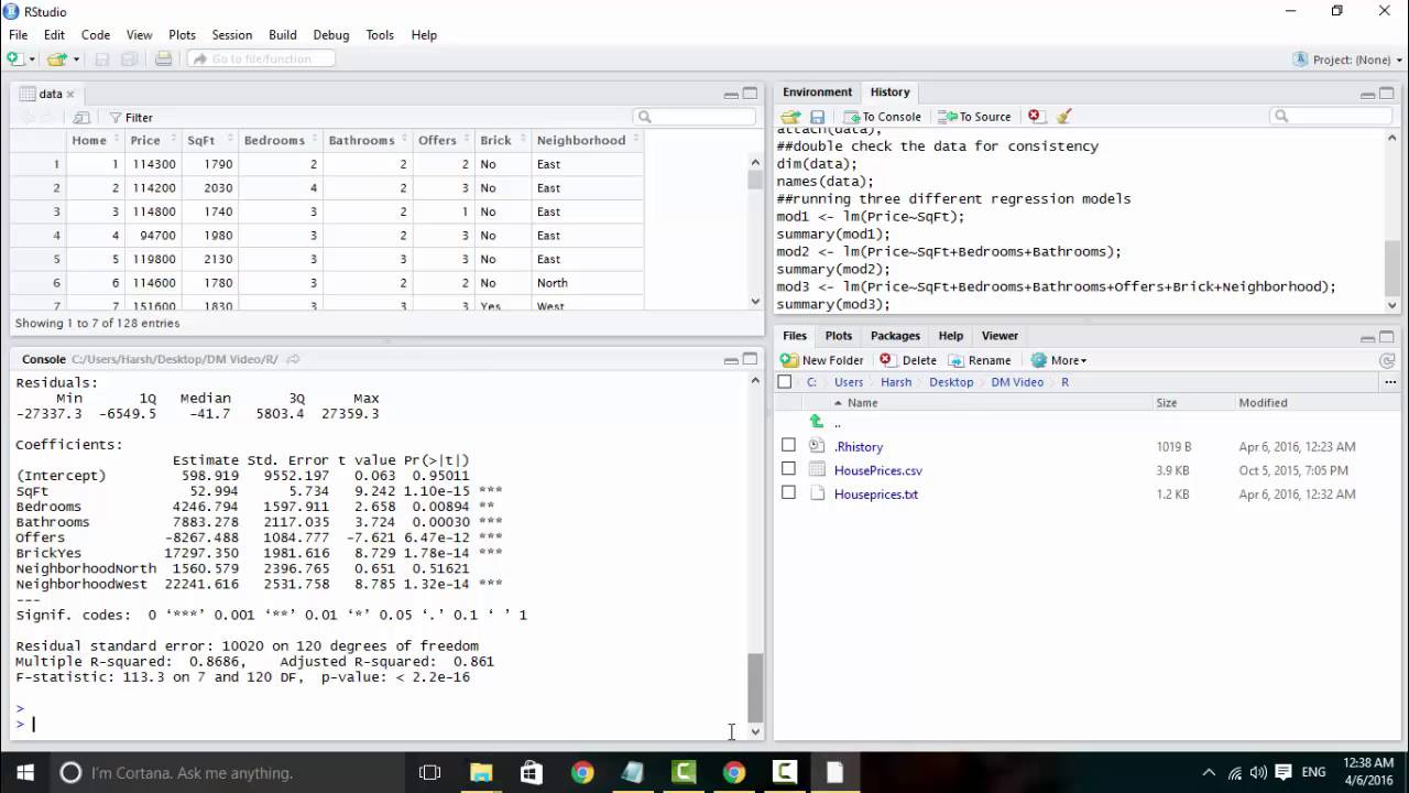 Sample Data Analysis using R YouTube – Sample Data Analysis