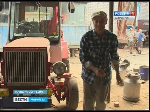 видео: Его прозвали «местный Кулибин» – житель Марий Эл сам собрал 3 трактора - Вести Марий Эл