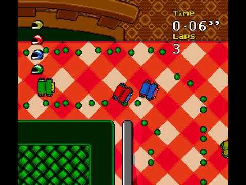Micro Machines 2: Turbo Tournament (SNES) full playthrough