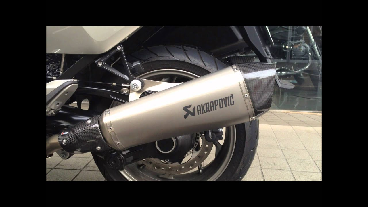 bmw motorrad k1600gtl akrapovic sound youtube. Black Bedroom Furniture Sets. Home Design Ideas