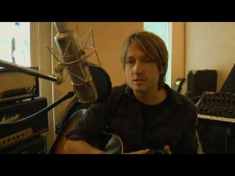 """Keith Urban recording """"Standing Right In Front Of You"""""""