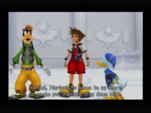 Kingdom Hearts Re: Chain of Memories English - Part 62 - Castle Oblivion