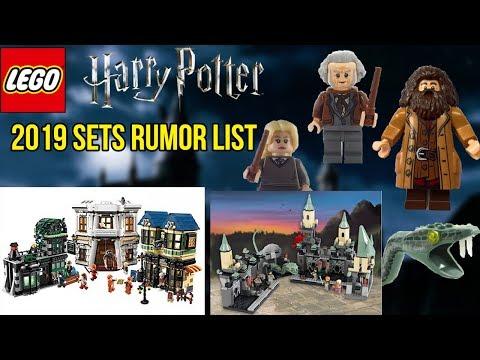 Lego 2019 rumors