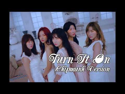 LABOUM - Turn It On [Chipmunk Version]