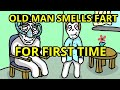 Old Man Smells Fart For The First Time