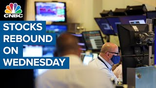 Stocks Higher After Tuesday's Failed Attempt To Rebound