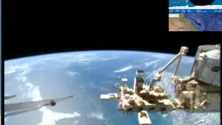 Вид на Землю с космоса. МКС онлайн. / View of Earth from space. ISS online(, 2015-11-25T22:57:27.000Z)