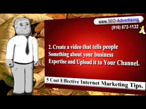 Cost Effective YouTube AdvertisingMarketing YouTube Videos