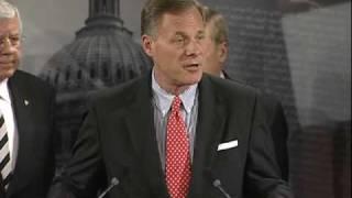 senator burr and gop help committee members respond to democrats health care bill