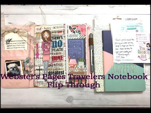 Travelers Notebook Flip Through & Online Haul from TheResetGirlShop