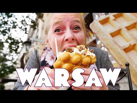 American Solo Female Traveler in Warsaw Poland