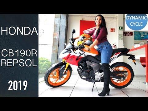 Honda Cb190r Repsol 2019